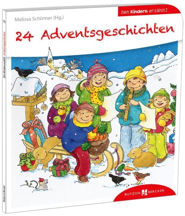 24 Adventsgeschichten den Kindern erzählt