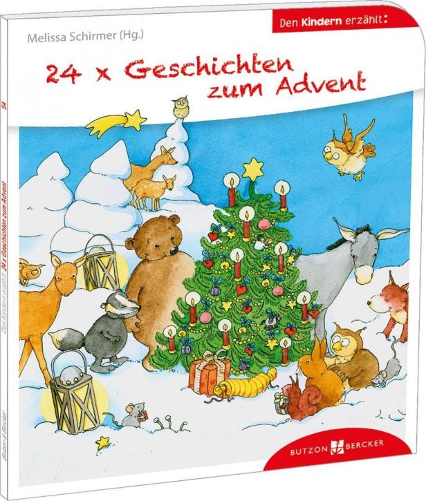 24 x Geschichten zum Advent den Kindern erzählt