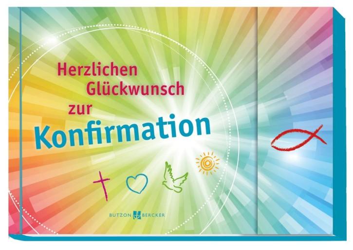 Herzlichen Glückwunsch zur Konfirmation (Geldgeschenkbuch)