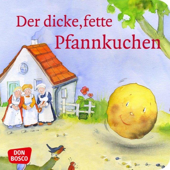 Der dicke, fette Pfannkuchen. Mini-Bilderbuch.
