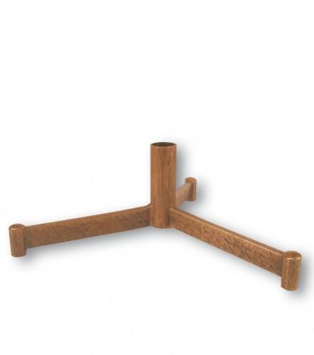 Fuß für das Vortragekreuz - Bronze