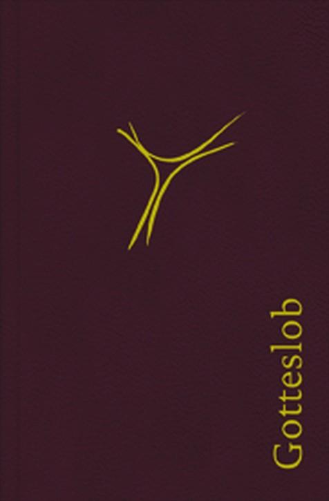 Gotteslob Leder weinrot mit Goldschnitt - Bistum Trier - Gebet- und Gesangbuch Diözese Trier
