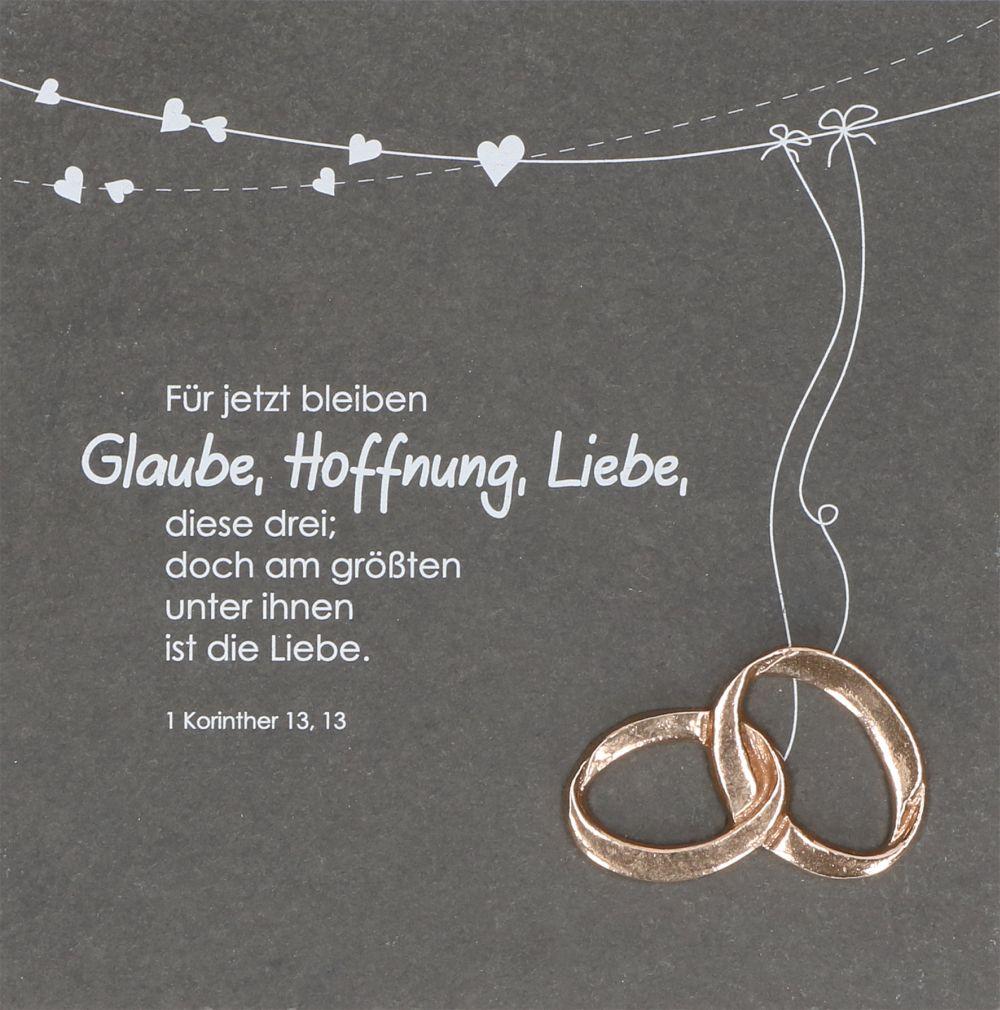 Ganz und zu Extrem Deko-Schiefertafel | Glaube, Liebe, Hoffnung | christliche-geschenke &FP_97