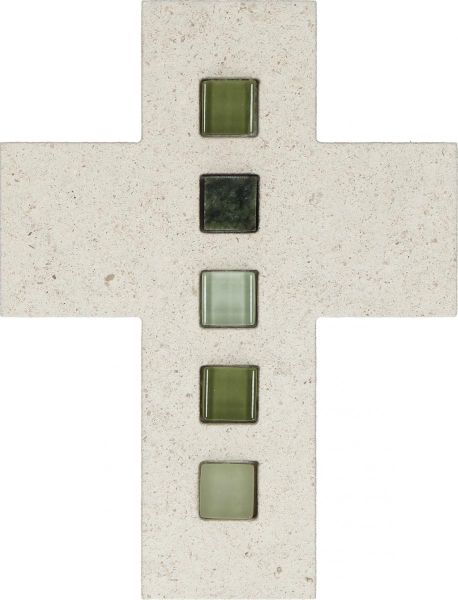 Schmuckkreuz aus Naturstein