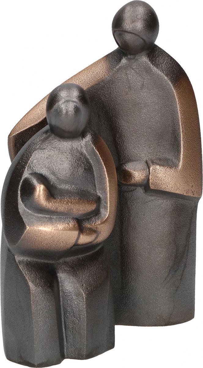 Figur Heilige Familie aus Bronze