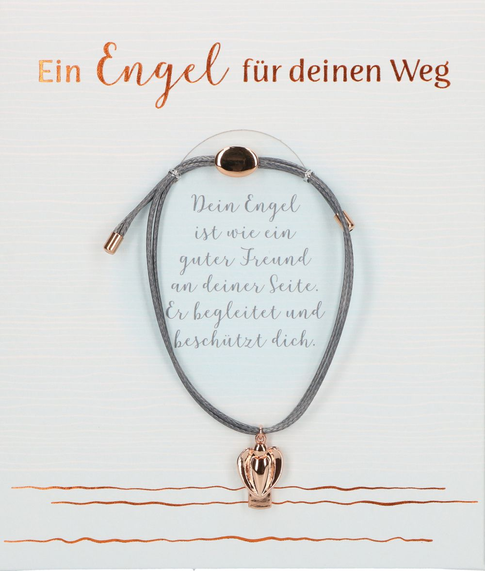 Textil-Armband Ein Engel für deinen Weg