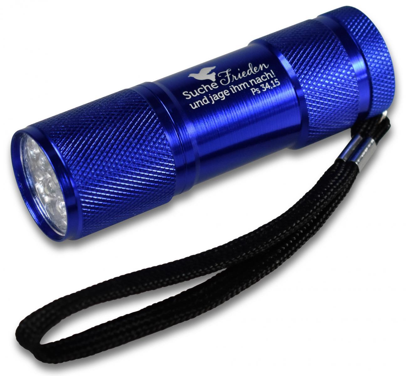 LED-Taschenlampe mit der Jahreslosung 2019