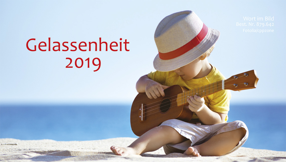 Gelassenheit - Kalender 2019