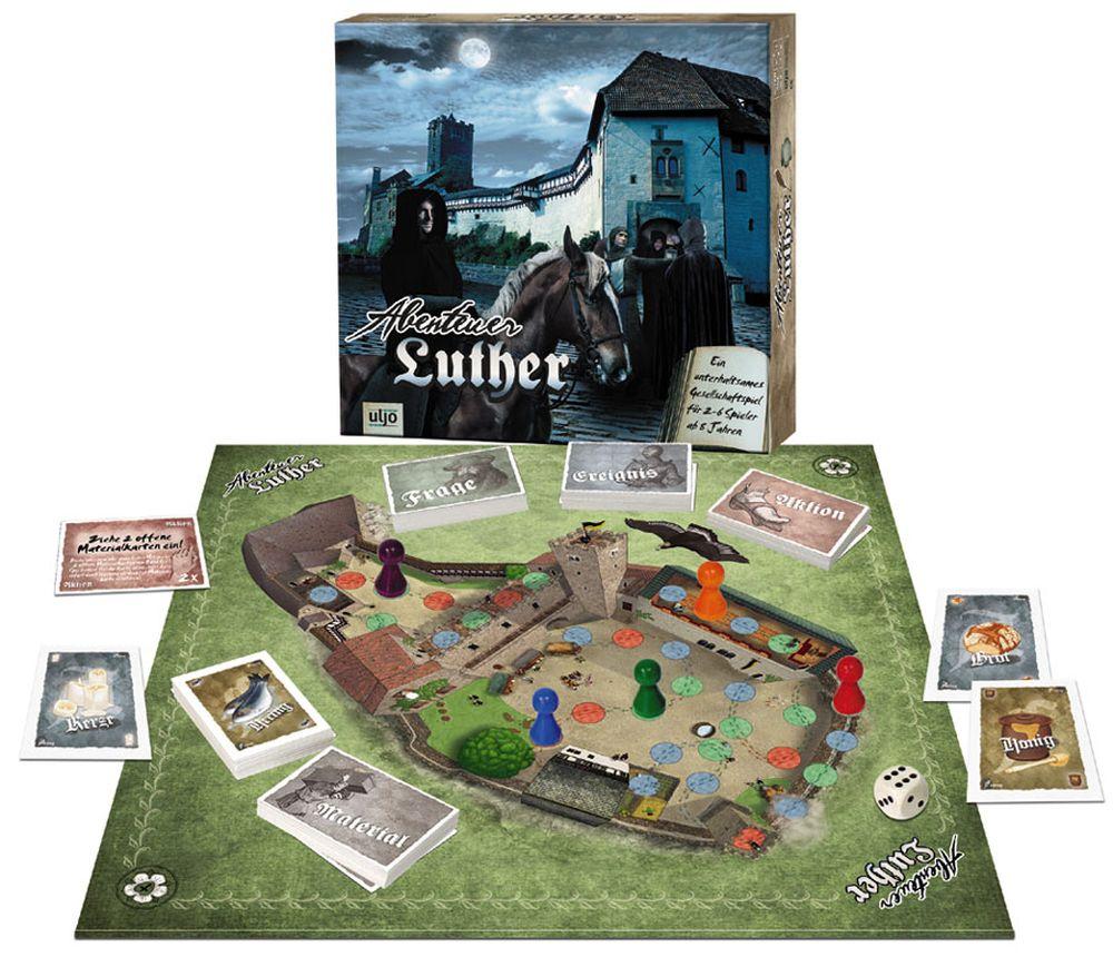 Abenteuer Luther - Das Gesellschaftsspiel für jung und alt