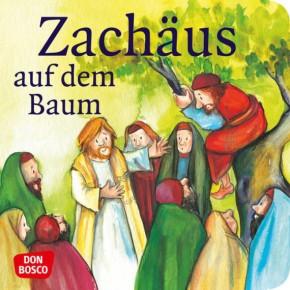 Zachäus auf dem Baum. Mini-Bilderbuch.