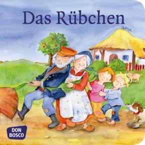 Das Rübchen. Mini-Bilderbuch.