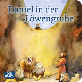 Daniel in der Löwengrube. Mini-Bilderbuch.