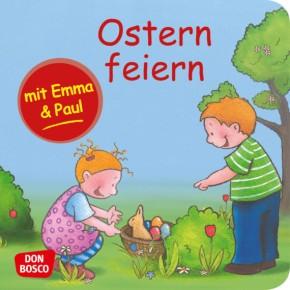Ostern feiern mit Emma und Paul. Mini-Bilderbuch.