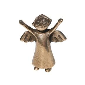 Engelchen aus Bronze, stehend