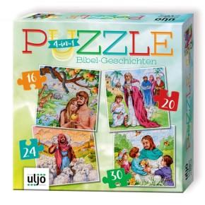 4-in-1-Puzzle Bibelgeschichten
