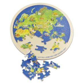 Puzzle - Weltkugel