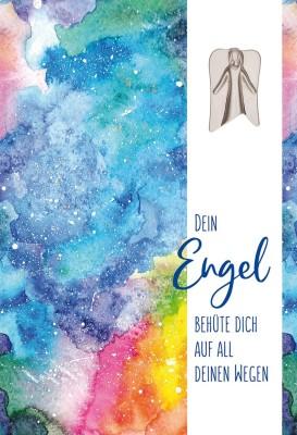 Mutmach-Karte - Dein Engel behüte dich auf all deinen Wegen