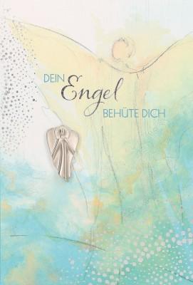 Klappkarte - Dein Engel behüte dich