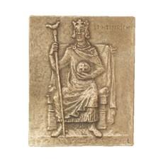 Bronzerelief Heinrich - Heiko