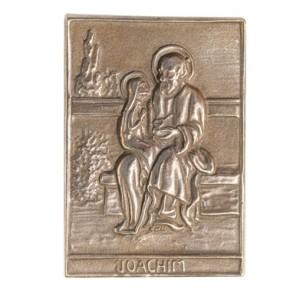 Bronzerelief Joachim
