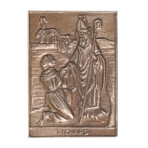 Bronzerelief Richard