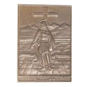 Bronzerelief Rudolf