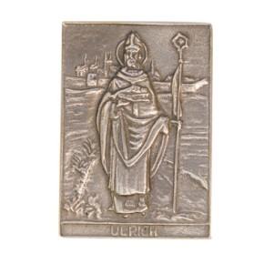 Bronzerelief Ulrich
