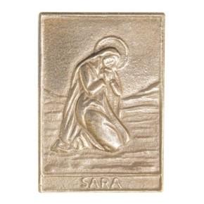 Plakette der Heiligen Sara