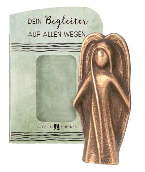 Schutzengel aus Bronze - ein schöner Handschmeichler