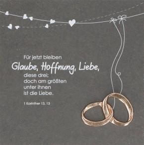 Schieferrelief Glaube, Hoffnung, Liebe