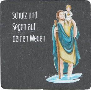 SchieferMagnet - Christophorus