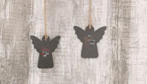 Schieferplakette Ein Engel für dich
