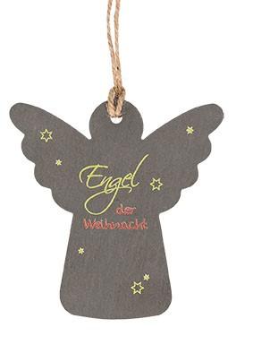 Schieferanhänger Engel der Weihnacht