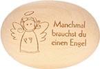 Holzhandschmeichler Manchmal brauchst du einen Engel