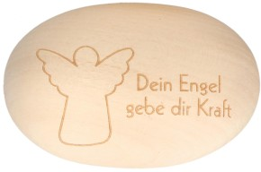 Holzhandschmeichler Dein Engel gebe dir Kraft