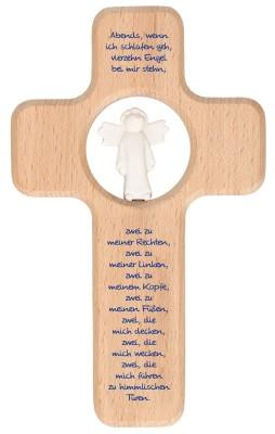 Kinderholzkreuz Vierzehn Engel