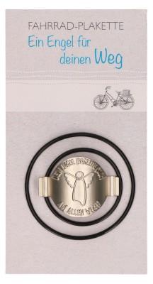 Fahrrad-Plakette Schutzengel