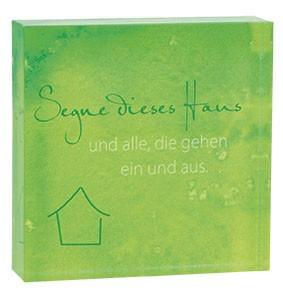 Relief zum Aufstellen Haussegen aus Acrylglas