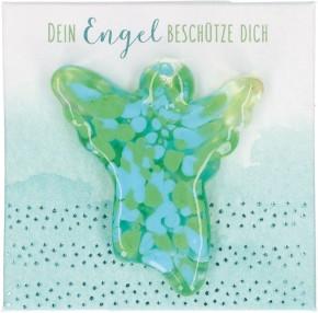 Engel-Glashandschmeichler - Dein Engel beschütze dich
