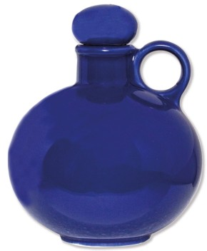 Keramik-Weihwasserkrug - blau