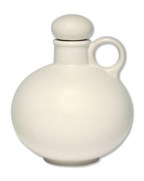 Keramik-Weihwasserkrug - weiß