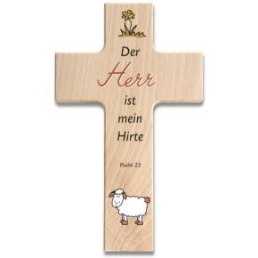 Holzkreuz - Psalm 23