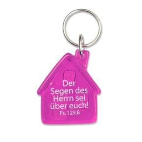 Schlüsselanhänger - Haus