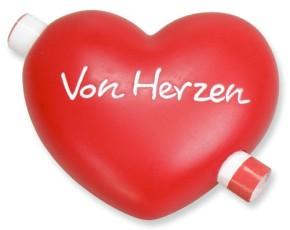 Gutschein-Herz - Von Herzen
