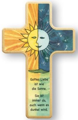 Kinderkreuz Sonne und Mond