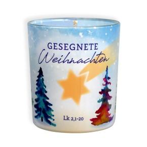Duftkerzenglas - Gesegnete Weihnachten