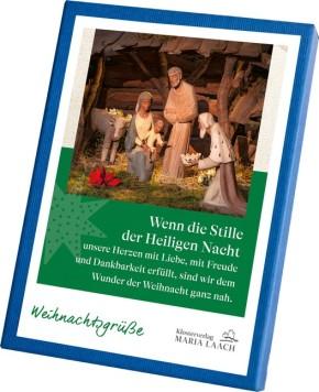 Kartenbox Weihnachtsgrüße, 6 versch. Motive, in Geschenkbox