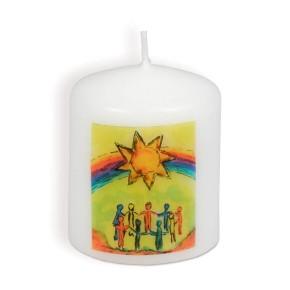 Kerze - Jesus lädt dich ein