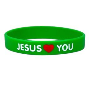 Bekenntnis-Armband - Jesus loves you