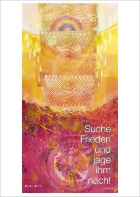 Jahreslosung 2019 Kunstblatt 40 x 60 Habedank